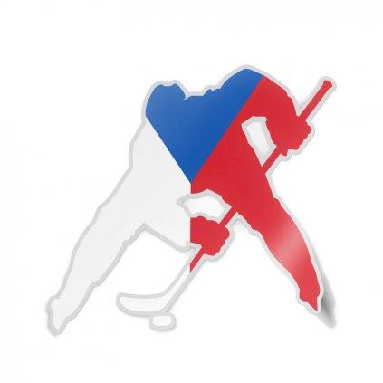 samolepka hokej