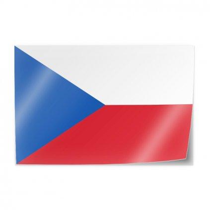 samolepka vlajka cr