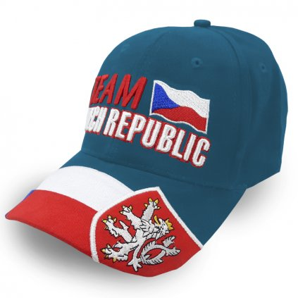 cap TEAM CZECH REPUBLIC lightblue