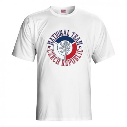 tshirt man czech nation team