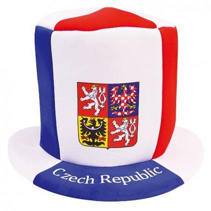 Klobouk CZECH REPUBLIC cylindr