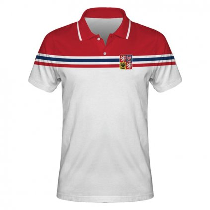 polo man czech hockey white front