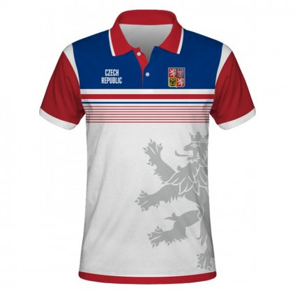 polo man czech republic white front