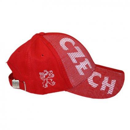 Kšiltovka CZECH – červená
