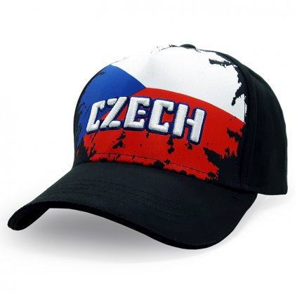 cap CZECH flag