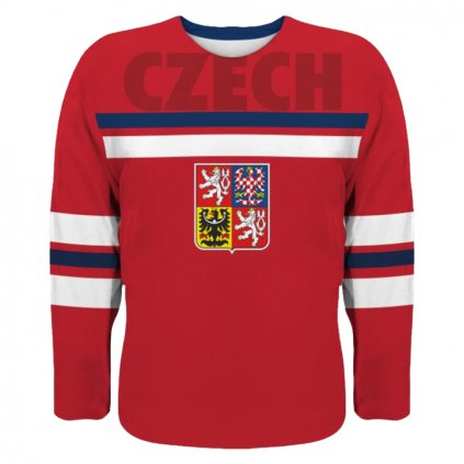 hockey jersey red