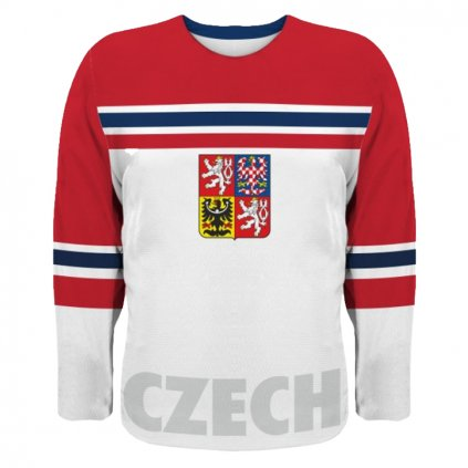 hockey jersey white