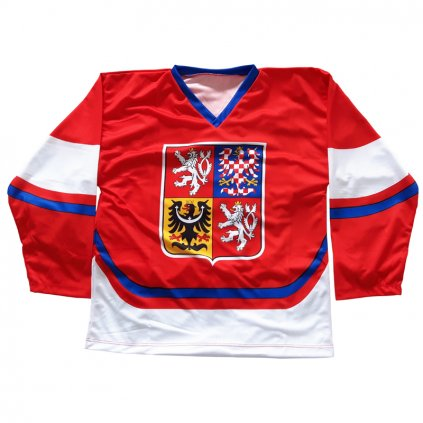 fan hockey jersey red