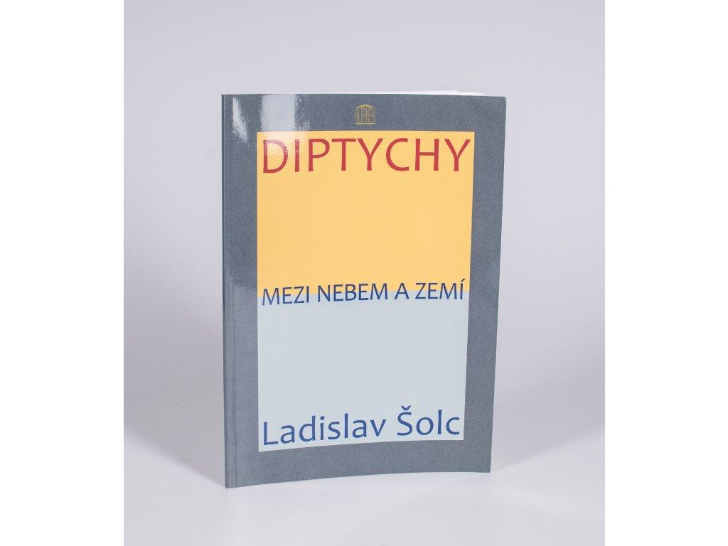 Czech Photo Kniha fotografie Ladislav Solc Diptychy Czech Press Photo Novinka 2