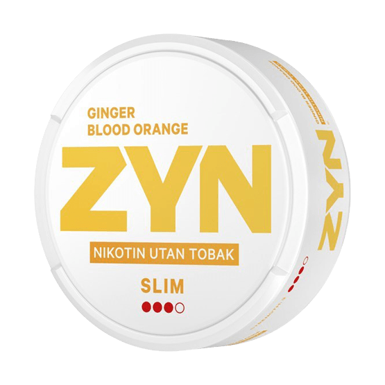ZYN Slim Ginger Blood Orange
