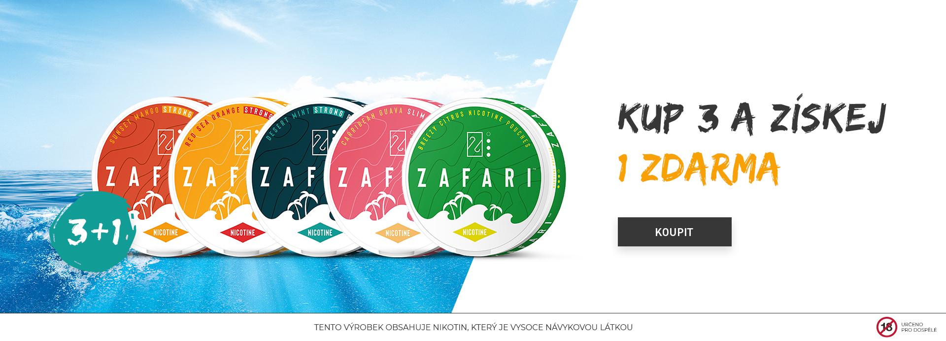 ZAFARI 3+1 zdarma