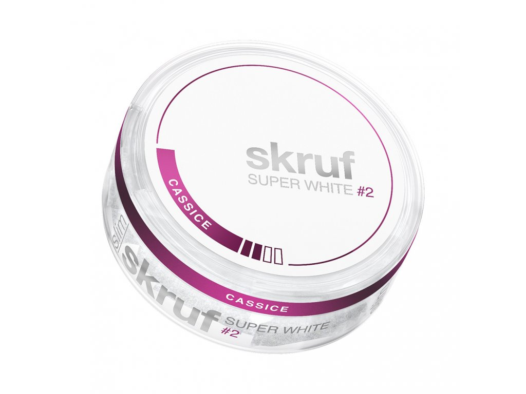 SKRUF SUPER WHITE, SLIM CASSICE