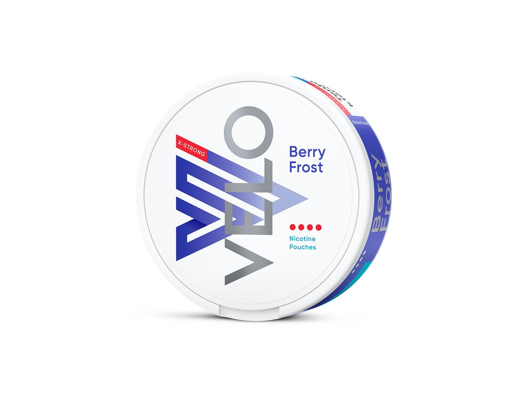 velo berry frost x strong, 10,9mg