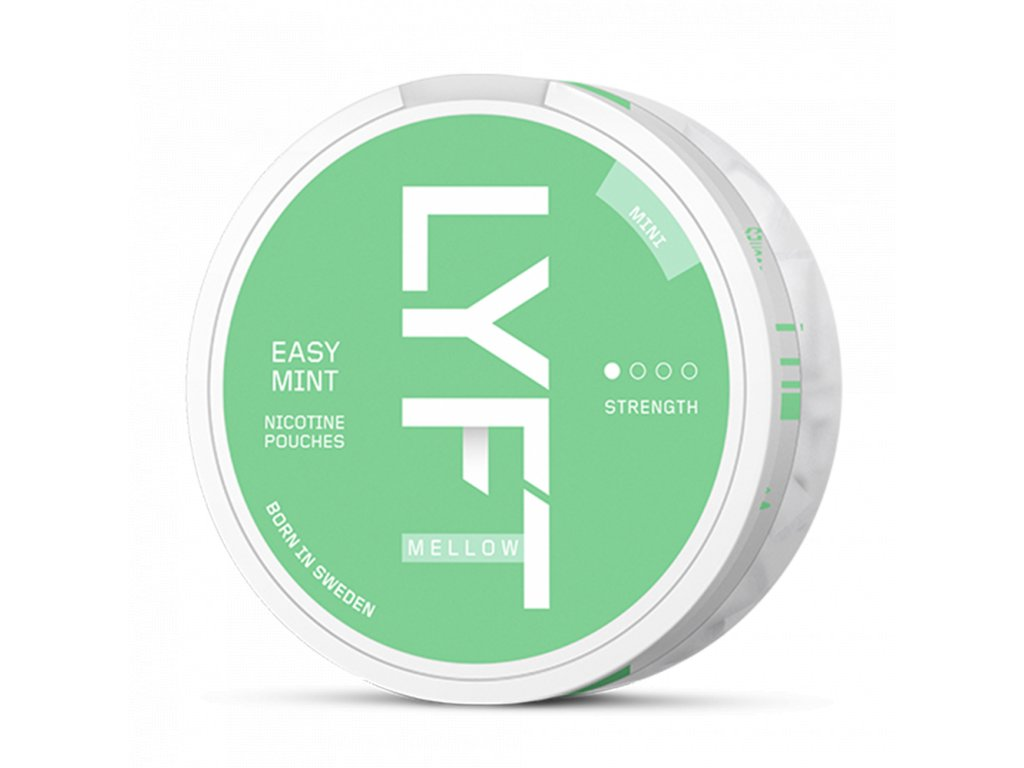 lyft easy mint mini all white portion