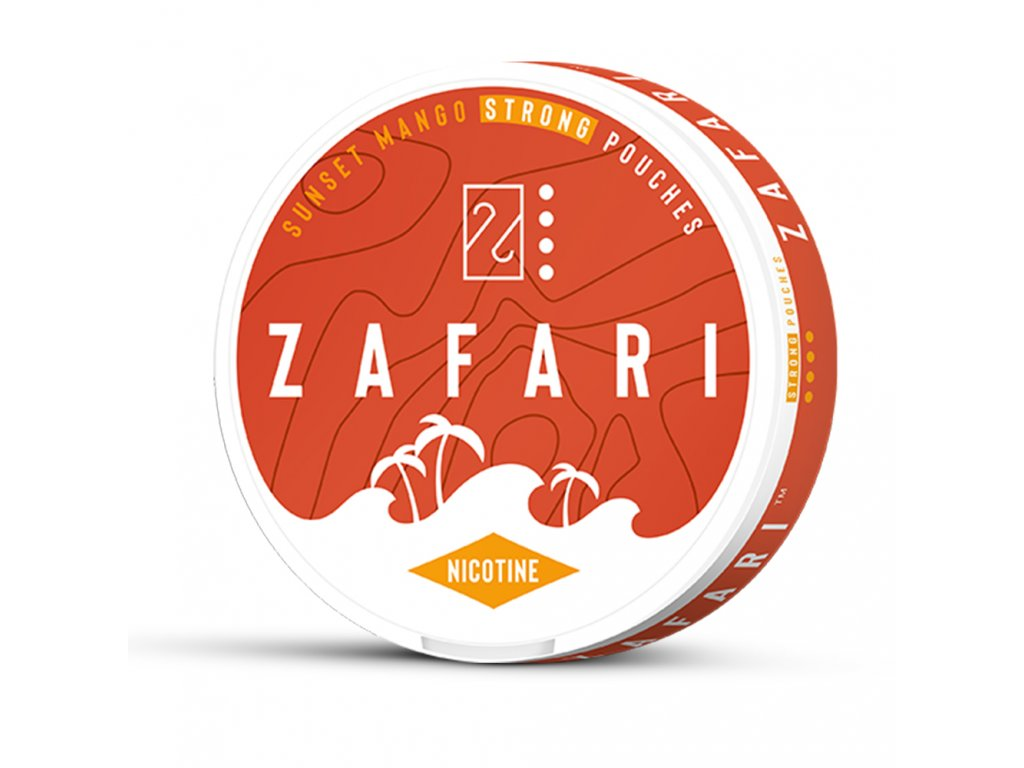 zafari sunset mango slim extra strong all white portion
