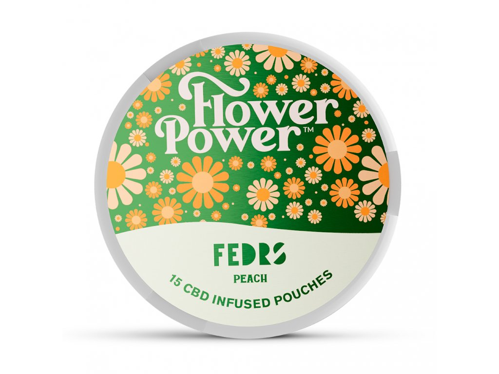 FLOWER POWER PEACH CBD 1