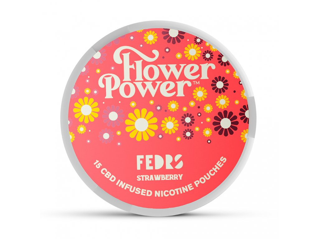 FLOWER POWER STRAWBERRY CBD A NIKOTIN 1