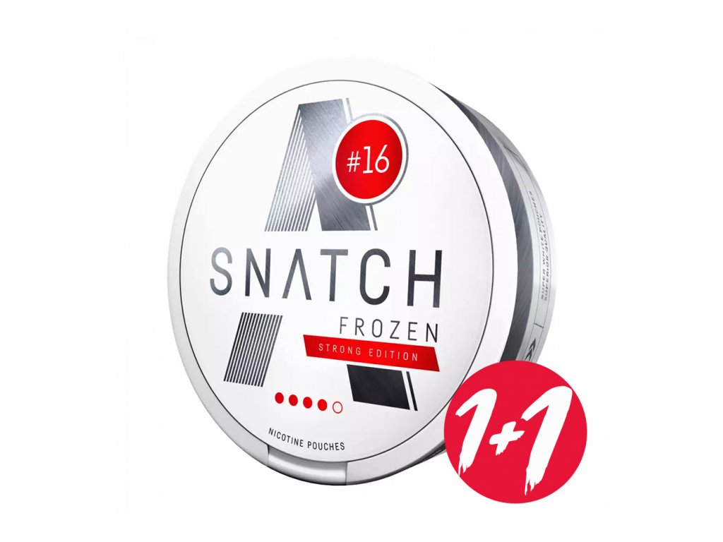 Snatch Frozen 16 mg Strong Edition 1 1+1