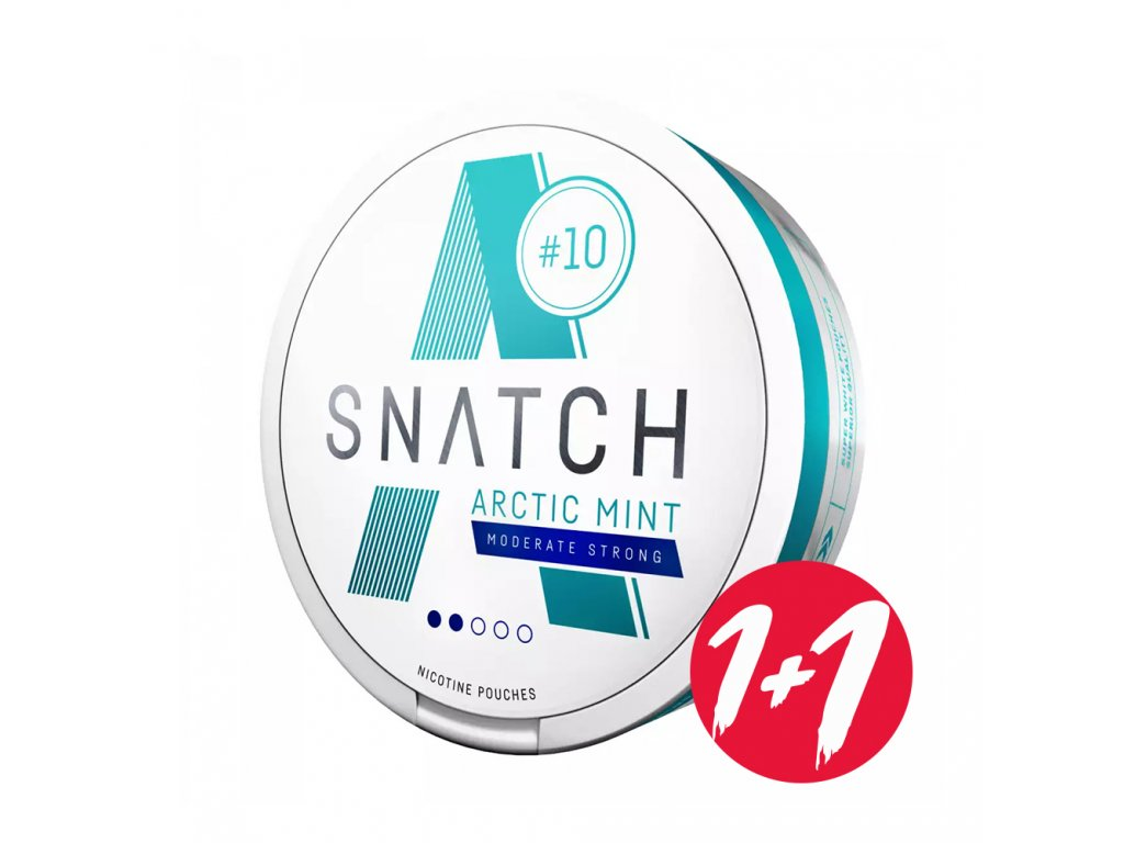 Snatch Arctic Mint 10mg Moderate Strong 1 1+1