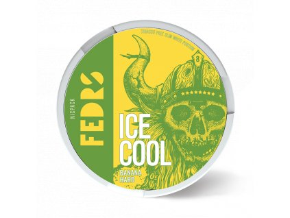 FEDRS ICE COOL BANANA HARD 1 stín
