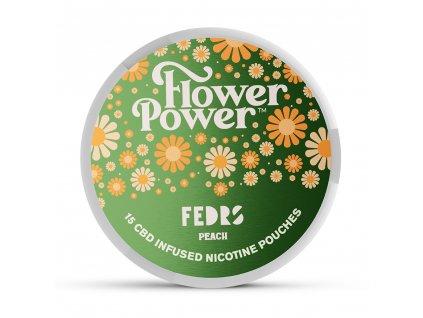 FLOWER POWER PEACH CBD A NIKOTIN 1