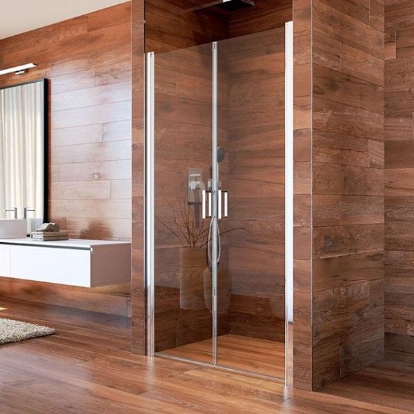 Jak si vybrat sprchové dveře do niky