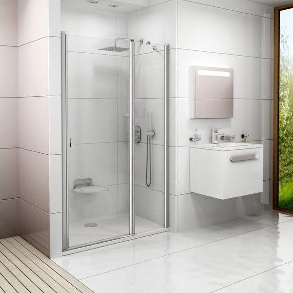 Proč zvolit sprchové dveře do niky?