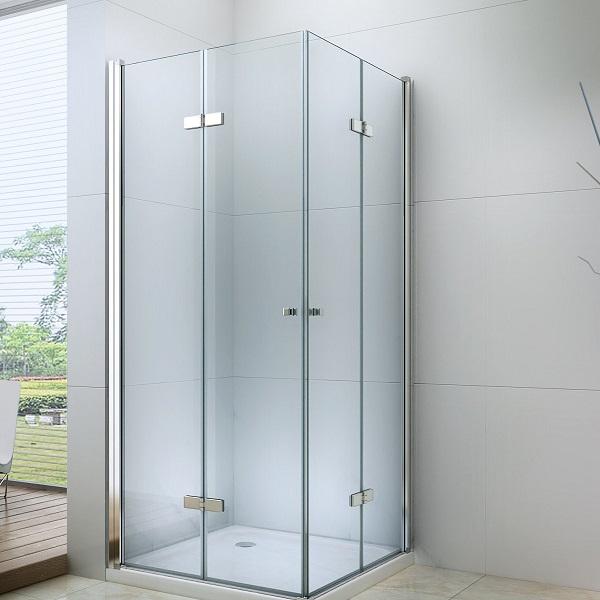 Sprchové kouty v koupelně šetří místo a čas