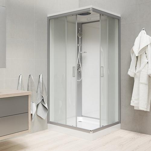 Sprchové boxy - vanička litý mramor