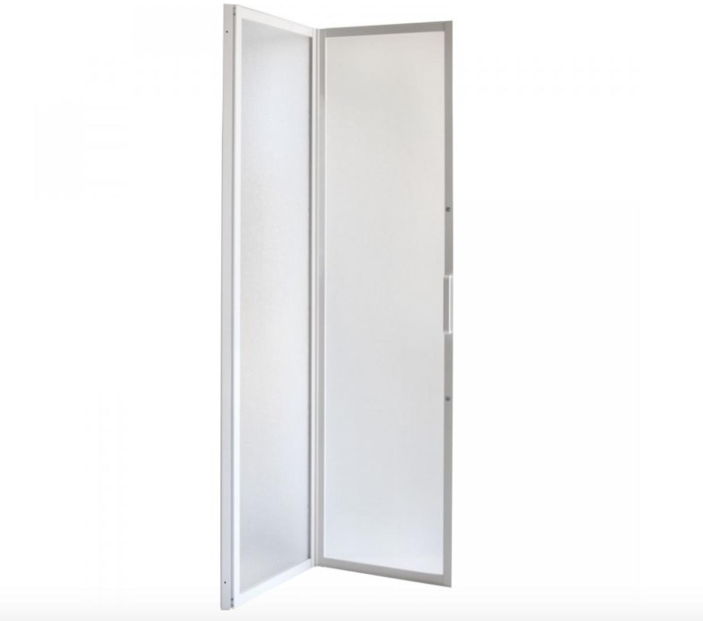 Zalamovací sprchové dveře do niky