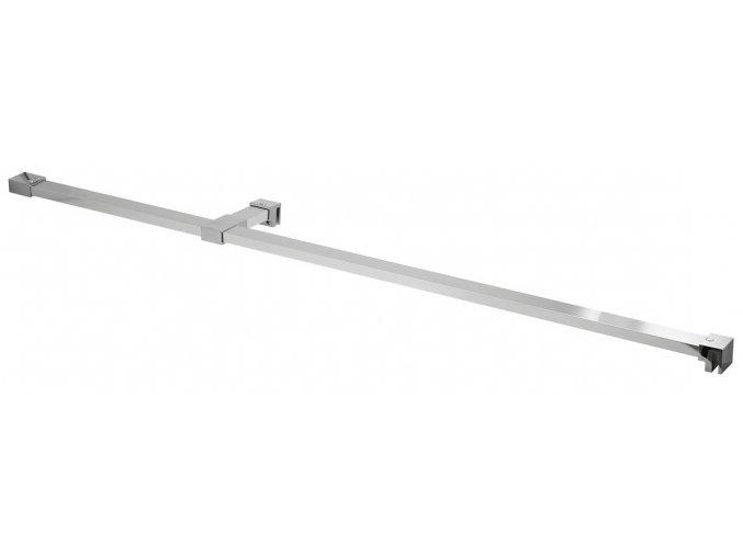 Vzpěra k bočním stěnám LEGRO a ONE, 120 cm, chrom | czkoupelna