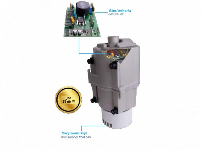 Tichý kompresor pro hydromasážní systémy EXCEL s hlučností pouhých59dB   czkoupelna.cz