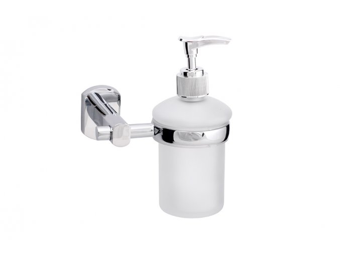 Dávkovač tekutého mýdla, sklo 180 ml, série NELA   czkoupelna