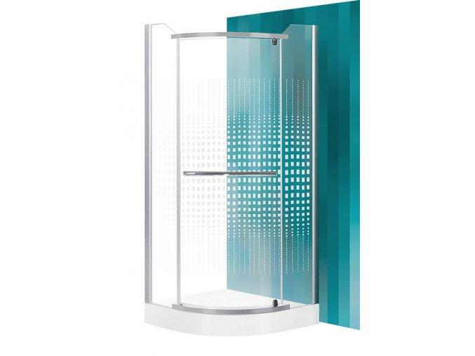 Sprchový kout AUSTIN 80 x 80 x 195 cm | czkoupelna.cz