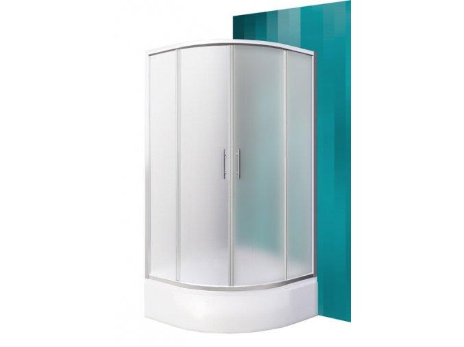 PORTLAND NEO/900 Čtvrtkruhový sprchový kout s dvoudílnými posuvnými dveřmi | czkoupelna.cz
