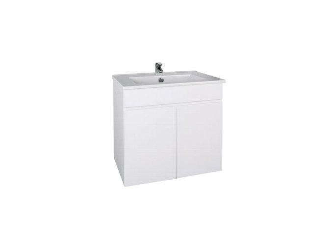Slim W 60 Koupelnová skříňka s umyvadlem | czkoupelna.cz