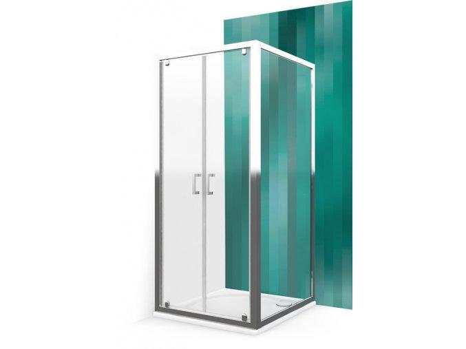 Pevná stěna pro sprchové dveře - LLB/75 cm