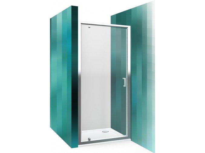 Sprchové dveře jednokřídlé 80 cm LLDO1 | czkoupelna.cz