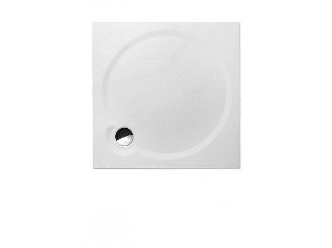 MACAO-M /800 - Čtvercová sprchová vanička z litého mramoru
