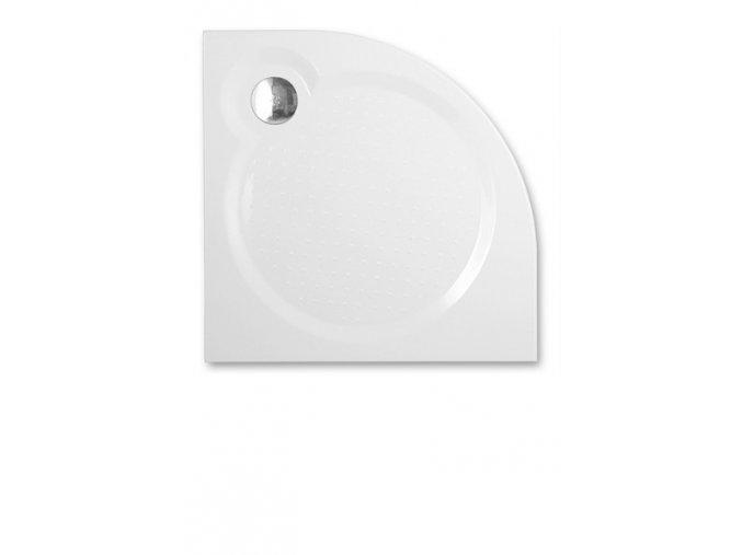 TAHITI-M/900 - Čtvrtkruhová sprchová vanička z litého mramoru