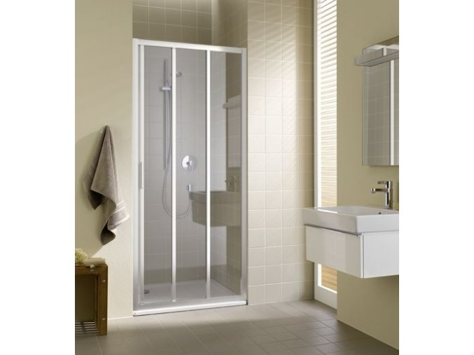 sprchove dvere posuvne davos plus 100x185 cm