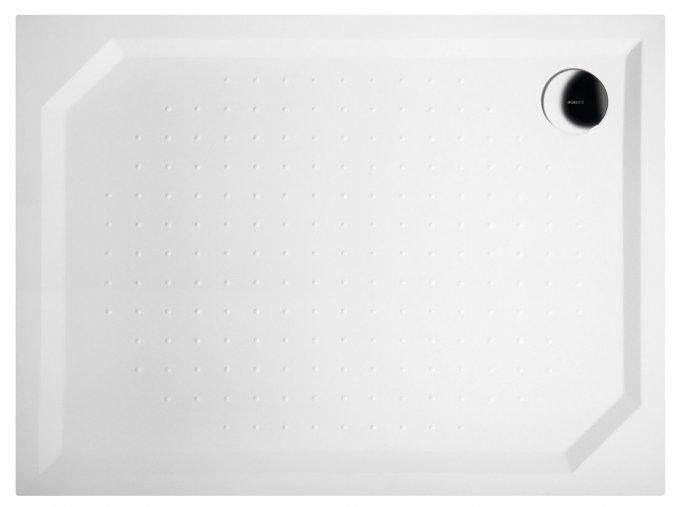 SARA sprchová vanička z litého mramoru, obdélník 120x80x4cm | czkoupelna
