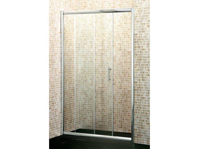 NICOL Exclusive 1400x1850mm sprchové dveře do niky-czkoupelna