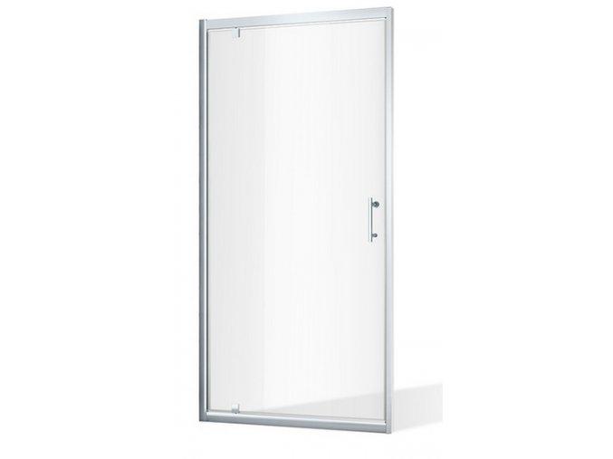 ROSS ALFA NEW 90x185 cm, jednokřídlé sprchové dveře | czkoupelna