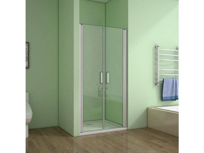 ROSS LINEA dvoukřídlé sprchové dveře 96 -100 CM