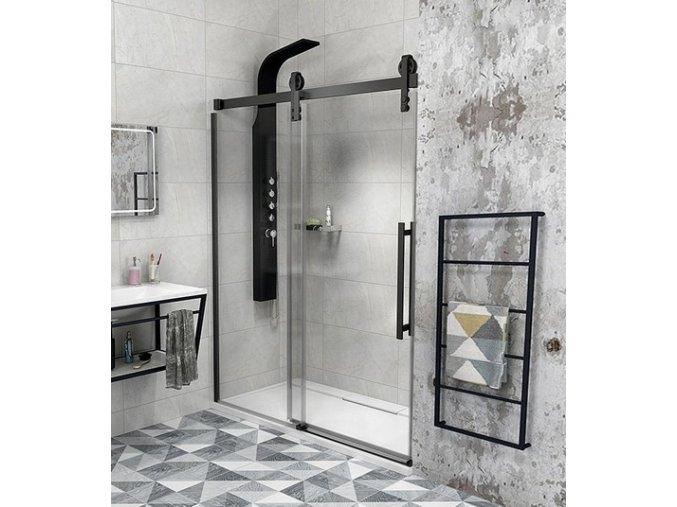Sprchové dveře GELCO VOLCANO 1300 mm čiré sklo - GV1413 | czkoupelna.cz