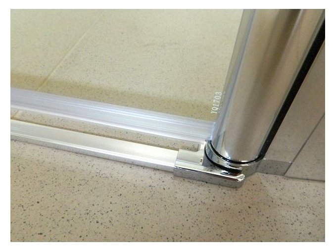 komfort T2 135 - sprchové dvoukřídlé dveře 131-136 cm czkoupelna