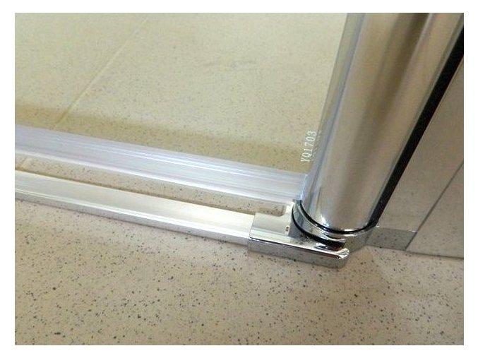 Komfort T2 140 - sprchové dvoukřídlé dveře 136-141 cm czkoupelna
