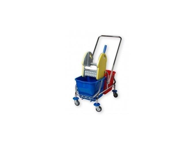 Úklidový vozík dvouvědrový