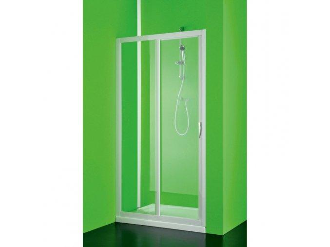 Sprchové dveře Maestro due - 130–120 × 185 cm | czkoupelna.cz